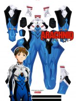 Custom Printed SHINJI PLUGSUIT Zentai Costume