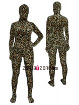 Cool Leopard Thicken Velvet Zentai Outfit
