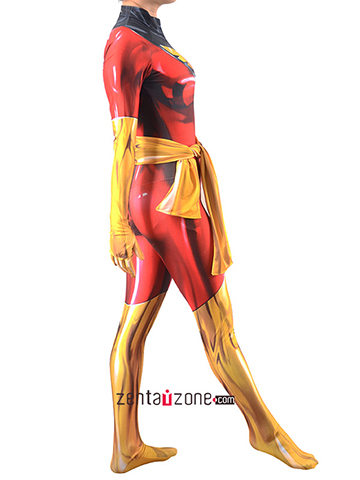 Custom Printed DarkPhoenix Zentai Costume
