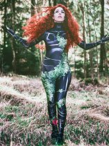 Custom Printed PoisonIvy Zentai Costume