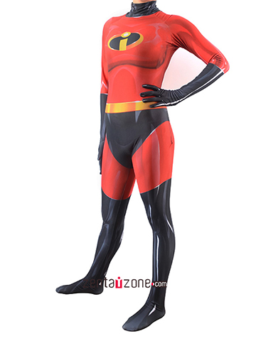 Custom Printed IncrediblesFemale Zentai Costume
