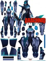Custom Printed PROJECT ASHE Zentai Costume