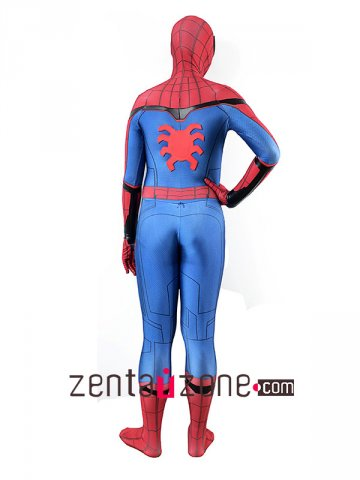 Homecoming Leather Lycra Spiderman costume V2