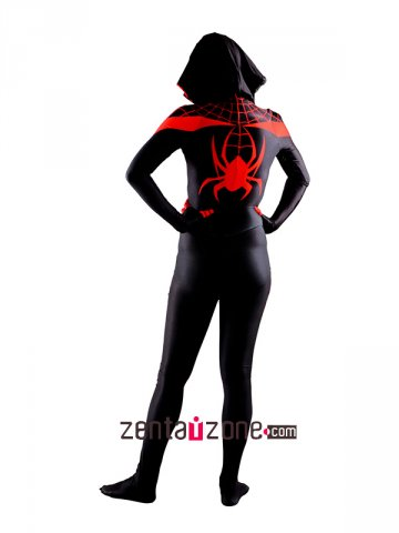 Lycra Spandex Miles Moreals Spider Girl Woman Costume