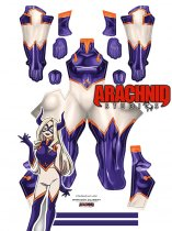 Custom Printed MT LADY Zentai Costume