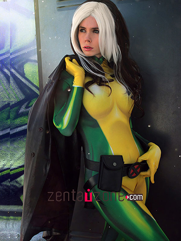 Custom Printed Rogue V2 Zentai Costume