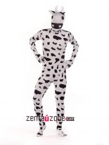 Cute Cow Spandex Lycra Print Animal Zentai