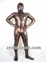 2011 New Style Copper Snake Pattern Zentai Suit