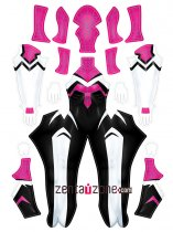 Custom Printed Ghost Spider Gwen V2 Zentai Costume