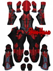 Custom Printed Spider-Armor MK PS4 Zentai Costume
