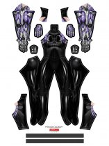 Custom Printed New Alita Zentai Costume