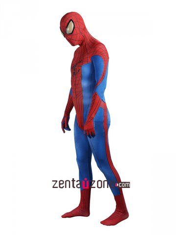 Injured Lycra The Amazing Spiderman 1 Zentai Suit [30411]