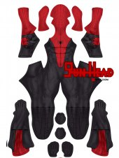 Custom Printed PS5 Spider-Man Miles Morales Sportswear Suit