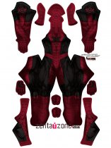 Custom Printed Spidey Pool Zentai Costume