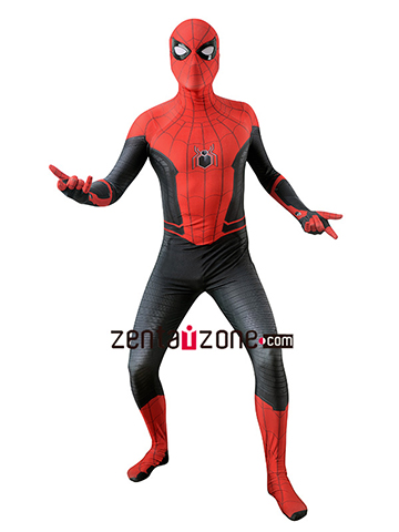 Custom Printed Far From Home Spiderman Zentai Suit