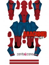 Custom Printed Homecoming Spiderman Zentai Costume